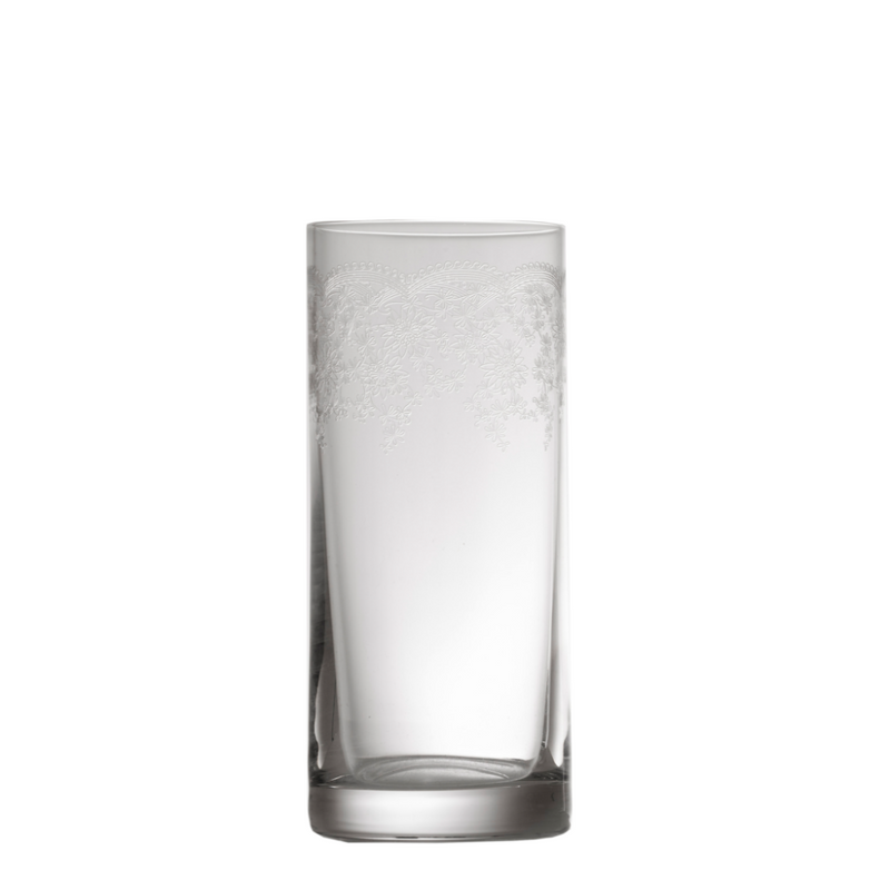 Floral Engraved Tall Tumbler
