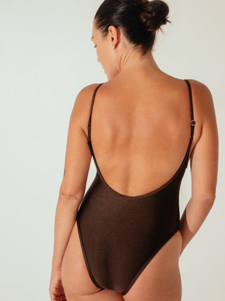 Innes Lauren One-piece Chocolate
