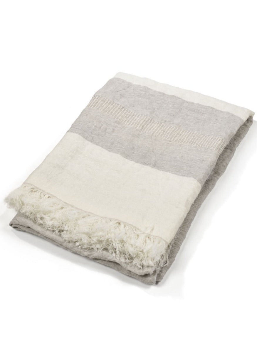 Libeco Linen Fouta - Gent Stripe  - 3 Sizes -