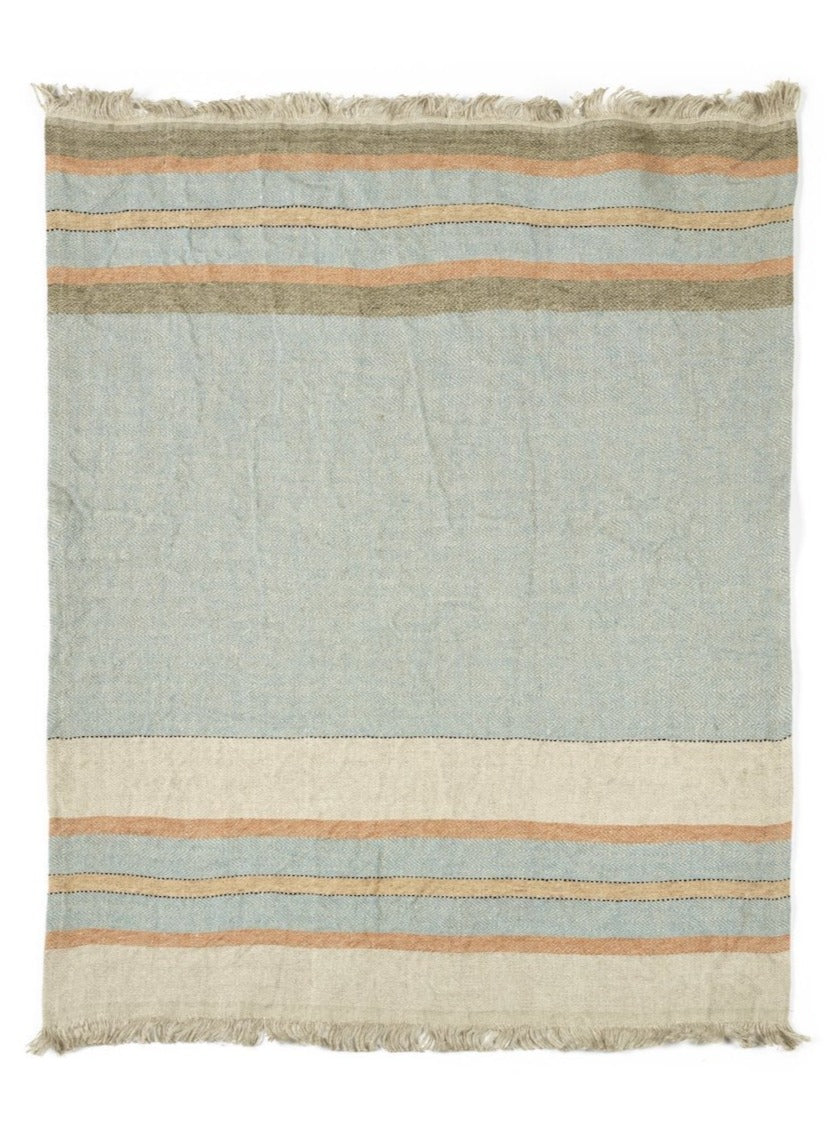 Libeco Linen Fouta - Multi Stripe - 3 Sizes
