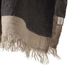 Libeco Linen Fouta - Black Stripe - 3 Sizes -