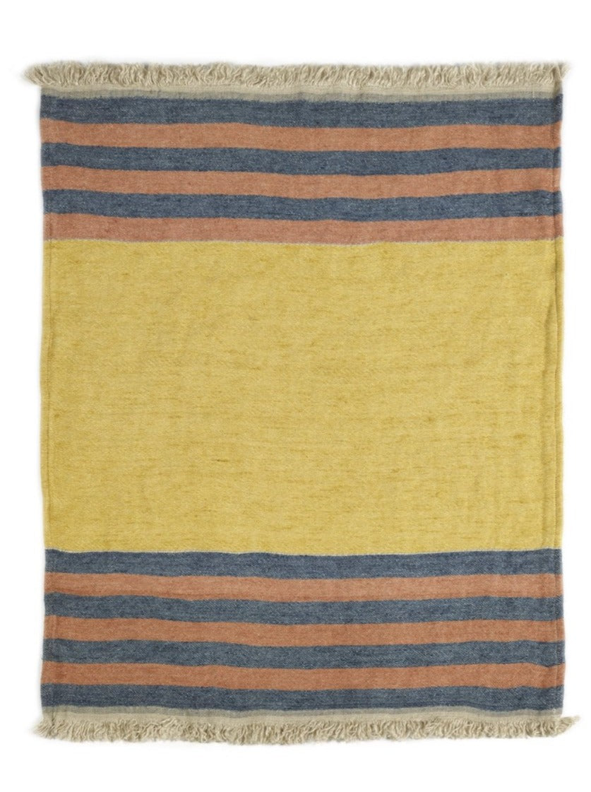 Libeco Linen Fouta - Red Earth Stripe