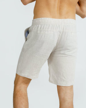 ORTC Linen Shorts Sand
