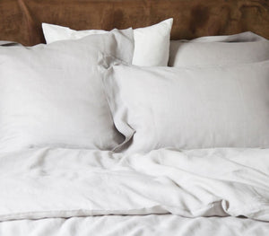 Libeco Santiago Queen Duvet Set with 2 Pillowcases