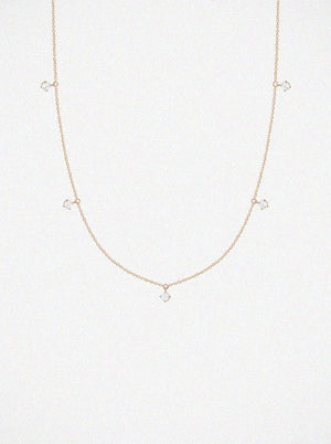 Vanrycke Stardust 5 Rose Gold Necklace