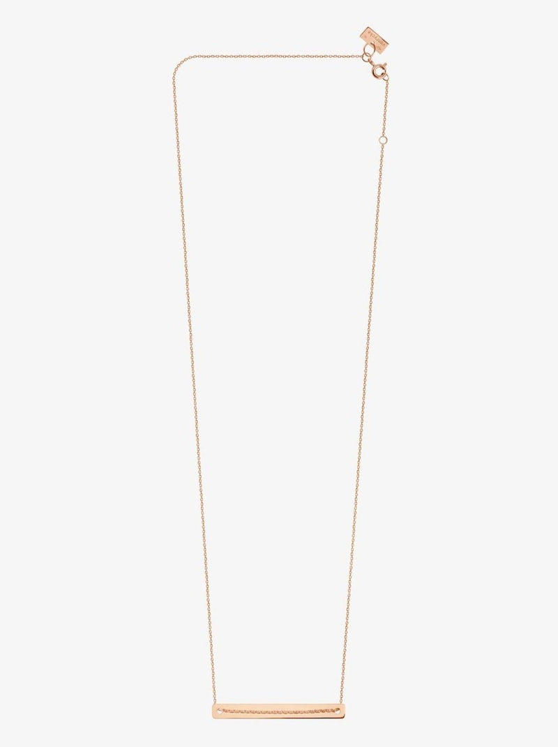 Van Rycke Bonnie & Clyde Rose Gold Necklace