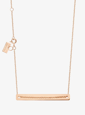 Vanrycke Bonnie & Clyde Rose Gold Necklace