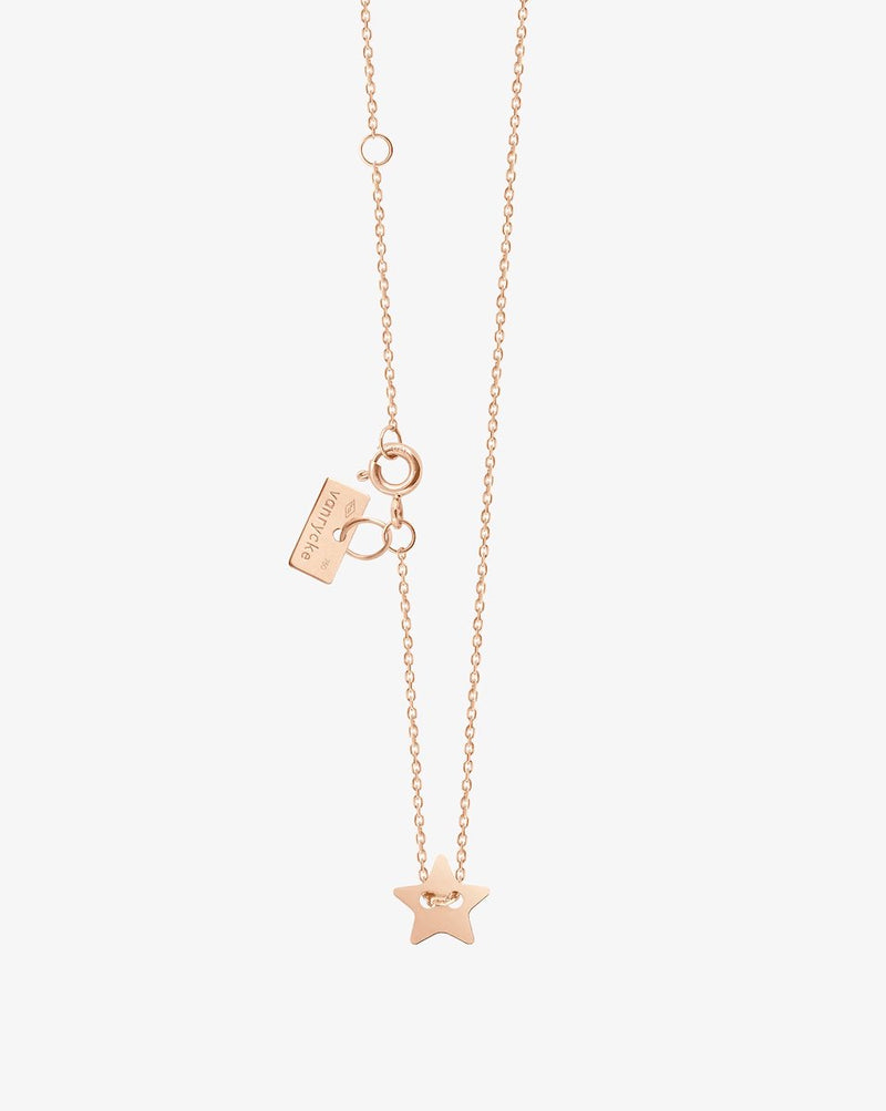 Van Rycke Little Miss Sunshine Rose Gold Necklace