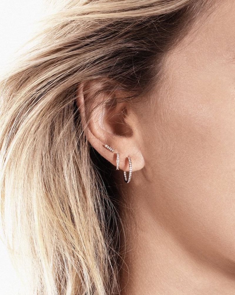 Vanrycke Mini Medellin Diamond Single Earring