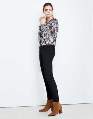 Reiko 'Sandy 2' Black Chino Trousers