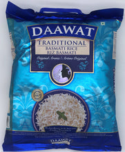 Load image into Gallery viewer, Daawat Rice Basmati Traditional Blue Bag 10 Lb
