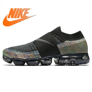 buy online 51d71 41c77 Original Authentic Nike Air VaporMax Moc Rainbow Cushion Men s Running  Shoes Sports Sneakers Outdoor Breathable durable AH3397