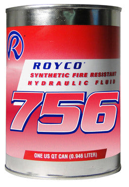 Premium ROYCO Petroleum Base Hydraulic Fluid (1 quart)