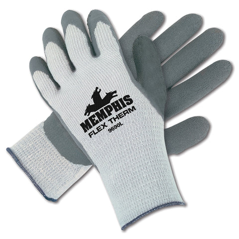Premium Memphis FlexTherm Latex Coated Palm Gloves (12 Pairs)-The Premium World