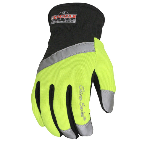 Premium Radwear All Purpose Synthetic Hi-Viz Utility Gloves-The Premium World