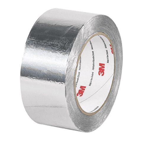 Premium Aluminum Foil Tape 425 Silver (2 in x 60 yd)-The Premium World