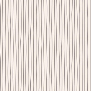 Tilda Classic Basics Pen Stripe Grey - 130033 - Stitches from the Bush