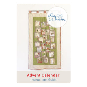 Advent Calendar PATTERN ONLY - A Forage by Lisa Mattock Design