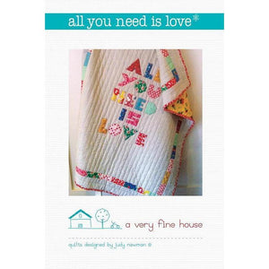 All You Need is Love Pattern - Judy Newman - Stitches from the Bush