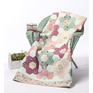 'Willowbrook Hexie Quilt' PATTERN ONLY - A Birdhouse Design - Stitches from the Bush