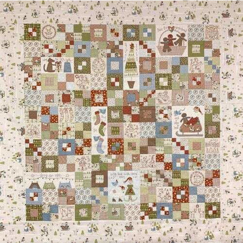 'Make Ready for Christmas' Quilt PATTERN ONLY - A Birdhouse Design