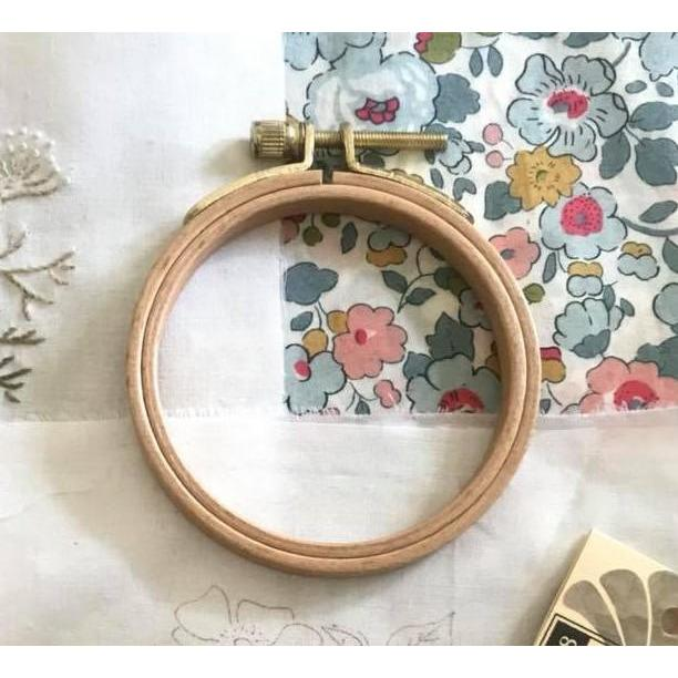 CGT - 11.5cm Timber Embroidery Hoop - Optional - Stitches from the Bush