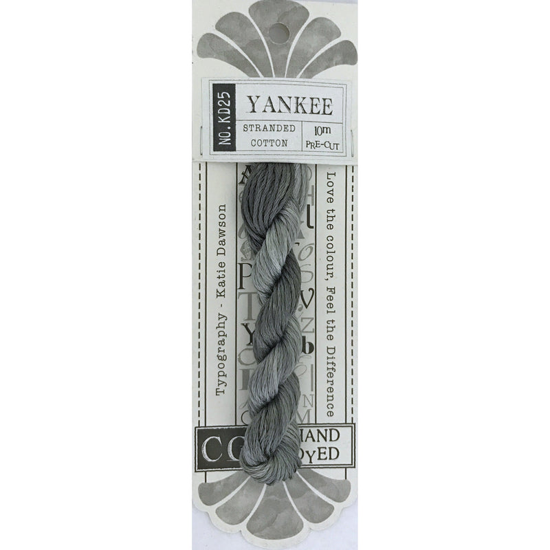 KD25 Yankee - Typography Range CGT - Stitches from the Bush