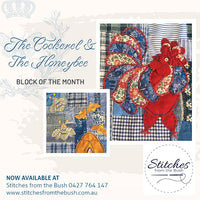 The Cockerel & The Honeybee ... Forage BOM - Monthly Starter Kit - Stitches from the Bush
