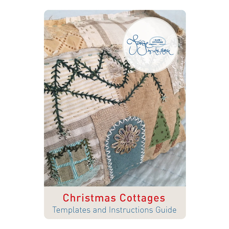 Christmas Cottages PATTERN ONLY - A Forage by Lisa Mattock Design