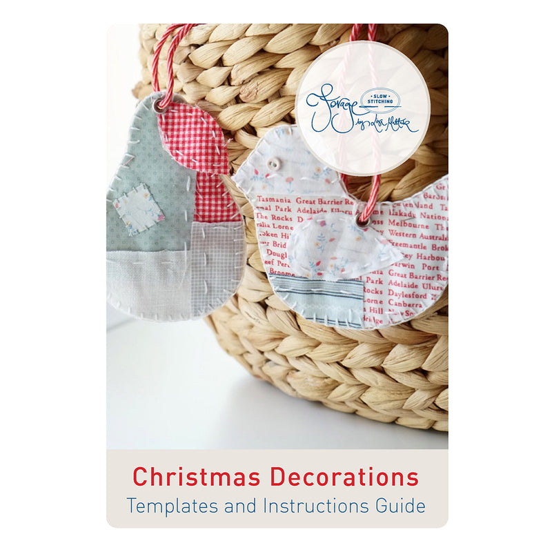 Christmas Decorations PATTERN ONLY - A Forage by Lisa Mattock Design