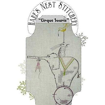 'Cirque Souris' Starter Kit - Hare's Nest Stitchery Kit - Stitches from the Bush