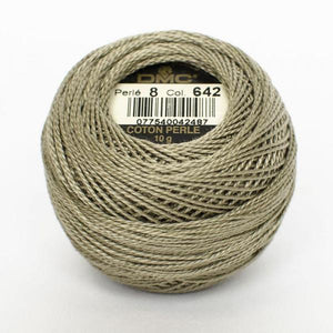 DMC Perle 8 Thread - Col. 642