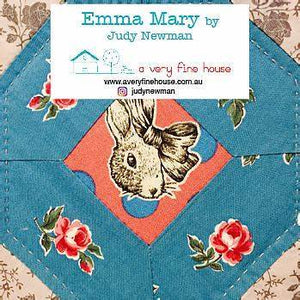 Emma Mary Quilt Templates ONLY - Judy Newman - Stitches from the Bush
