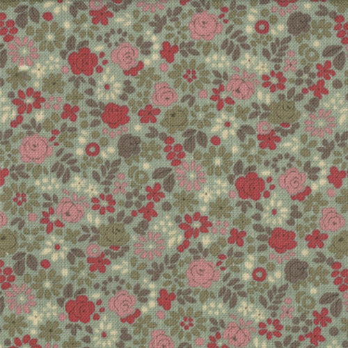 French General Verde Tiny Floral - M13635-13 - Stitches from the Bush