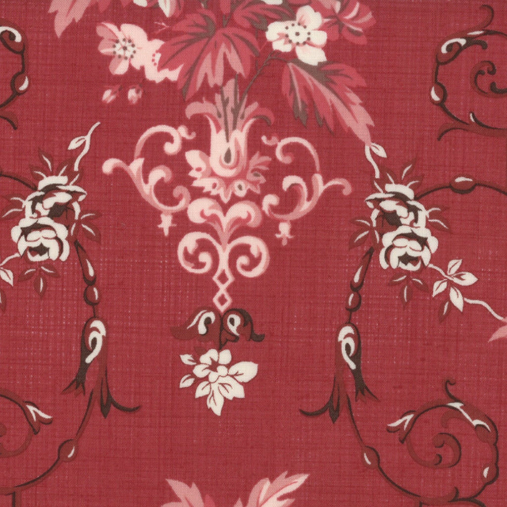 French General Rouge Floral - M13592-14 - Stitches from the Bush