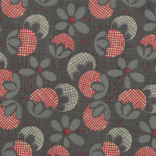 French General Dark Denim Flowers - M13615-14 - Stitches from the Bush
