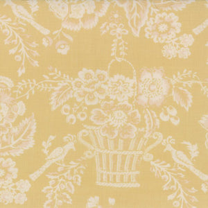 French General French Ivory FAT QUARTER - M13661-21 - Stitches from the Bush