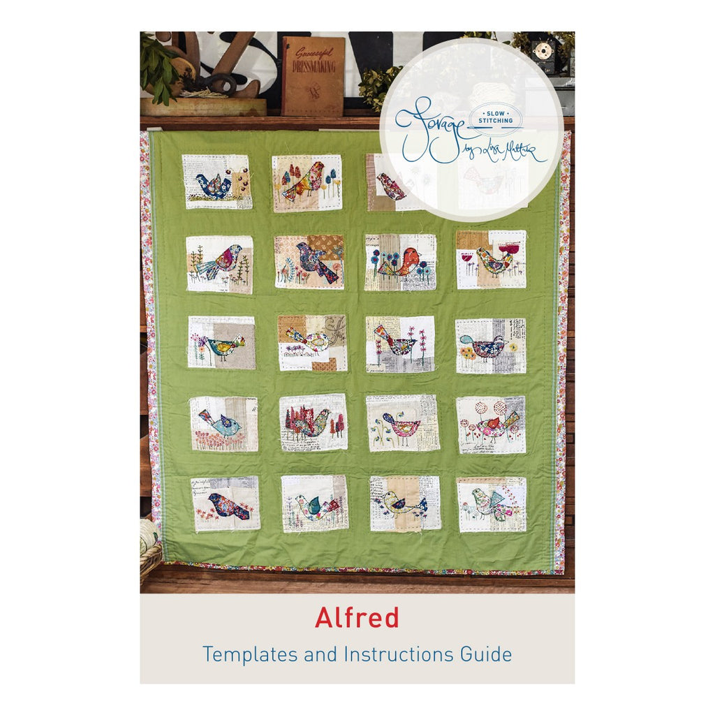 Alfred Template & Instruction Guide ONLY - A Forage by Lisa Mattock Design