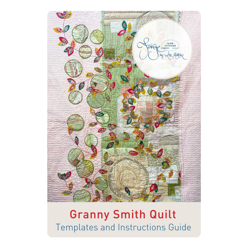 Granny Smith Quilt  Pattern & Template Set ONLY - A Forage by Lisa Mattock Design