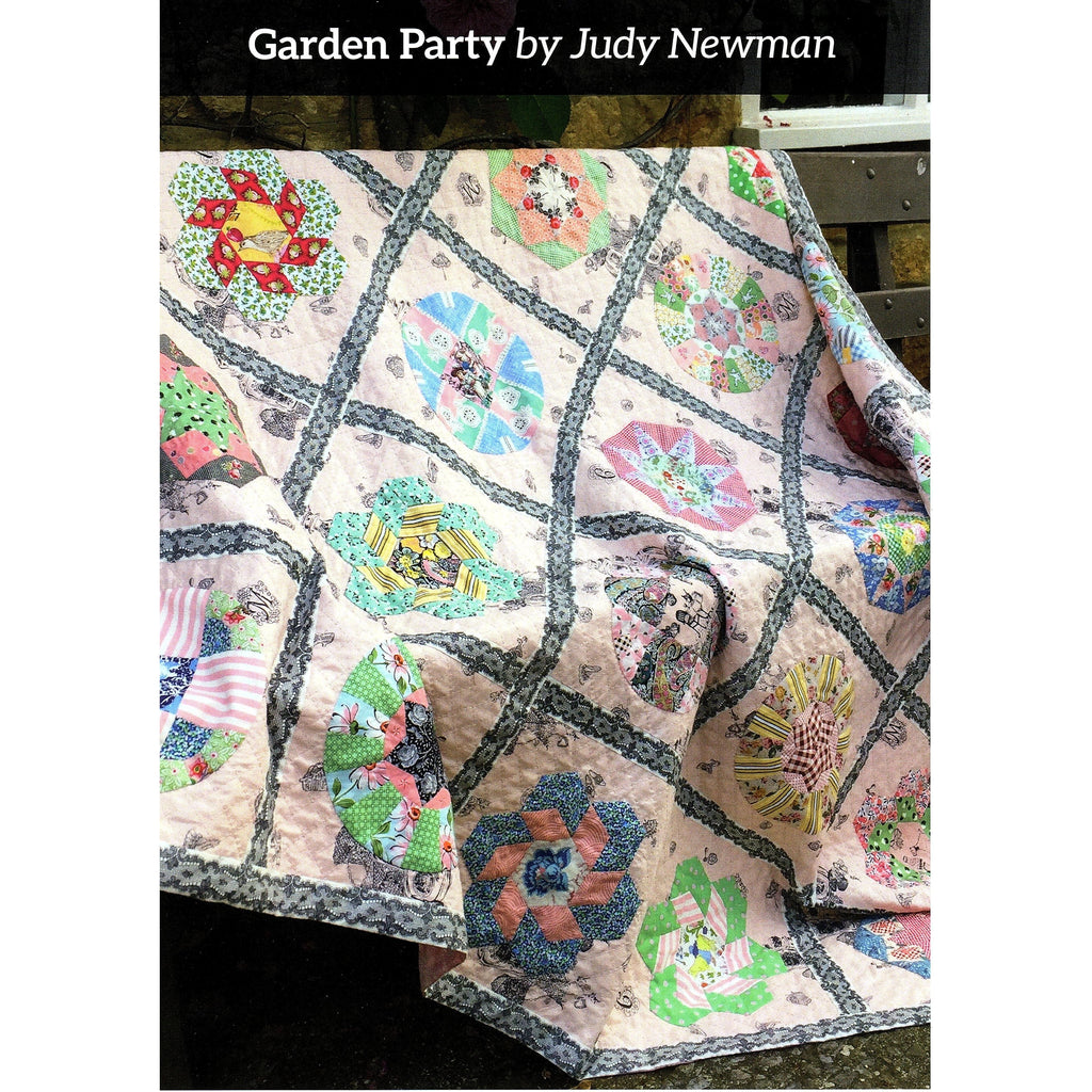 Garden Party Quilt Pattern ONLY - Judy Newman - Stitches from the Bush