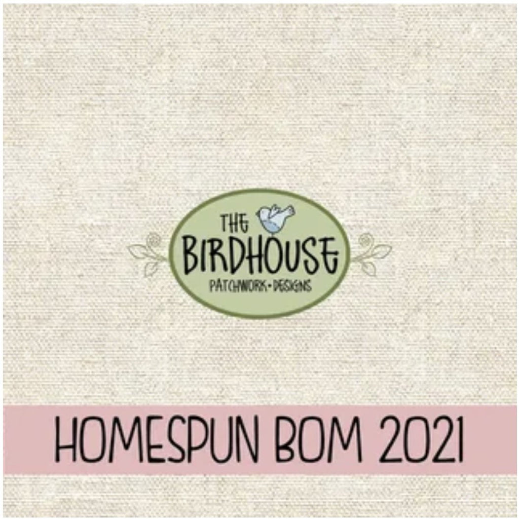 PRE-ORDER - Homespun 2021 BOM - 'A Letter to my Daughter' - COMPLETE Fabric Pack