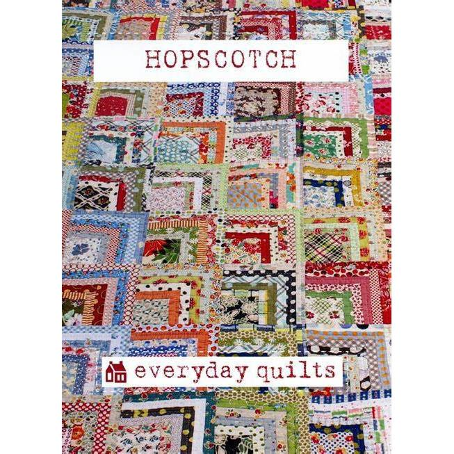 Hopscotch Pattern - Everyday Quilts - Stitches from the Bush