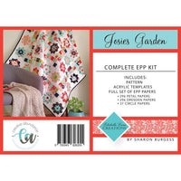 Josie's Garden Pattern & EPP Pack with Templates - Lilabelle Lane Creations - Stitches from the Bush