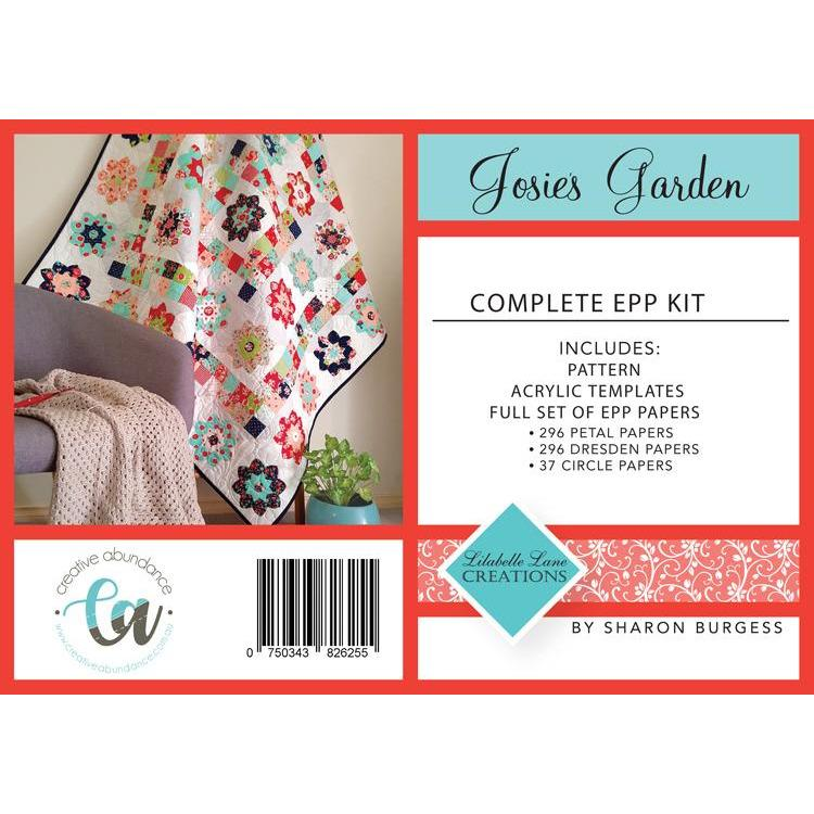 Josies Garden Pattern & EPP Pack with Templates - Lilabelle Lane Creations - Stitches from the Bush