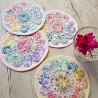 Sherbert Daisy Doily - Lilabelle Lane Creation - Stitches from the Bush