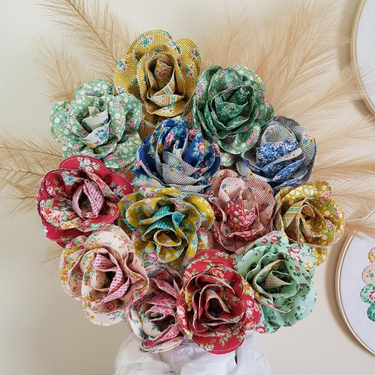 Just for You Bouquet - Lilabelle Lane Designs - Stitches from the Bush