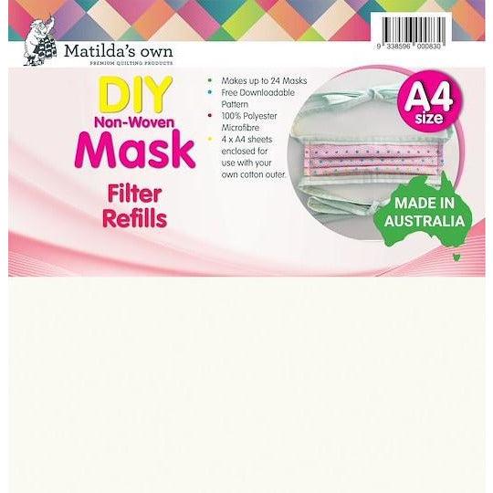 Mask Filter Inserts - Matilda's Own