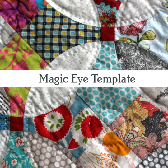 Magic Eye Pattern & Template - Emma Mary Designs - Stitches from the Bush