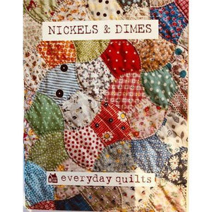 Nickels & Dimes Pattern & Template - Everyday Quilts - Stitches from the Bush