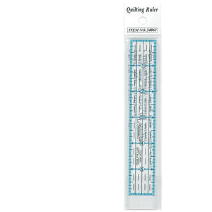 "Le Summit Quilting Ruler Standard 1"" x 6"""